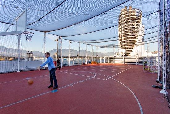 Sport Courts on Eurodam