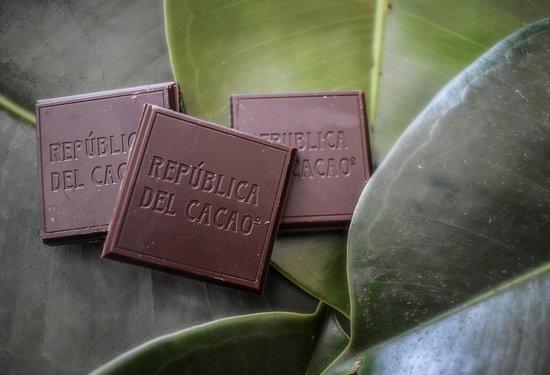 Republica del Cacao - Centro Histórico de Quito: Delicious chocolates made with the amazonian Cacao Fino variety Sacha