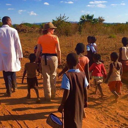 Lower Zambezi National Park, แซมเบีย: Working outside of Lusaka, Zambia with World Vision.