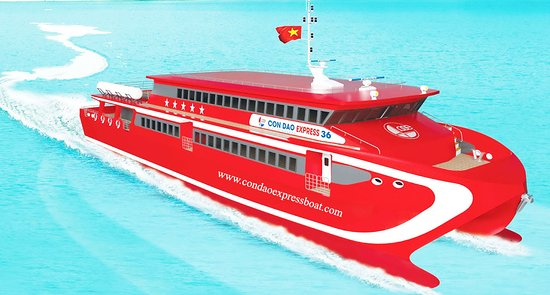 Con Dao Islands, Vietnam: Con Dao Express 5* Boat