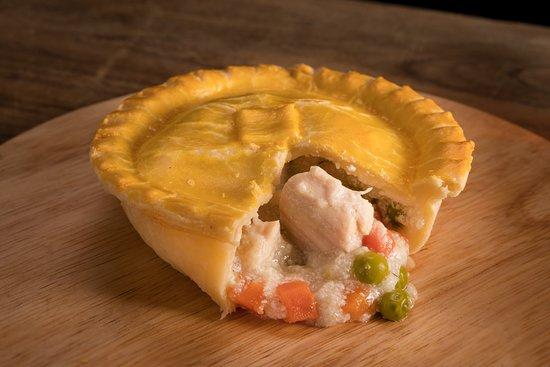 The London Pie: chicken pot pie