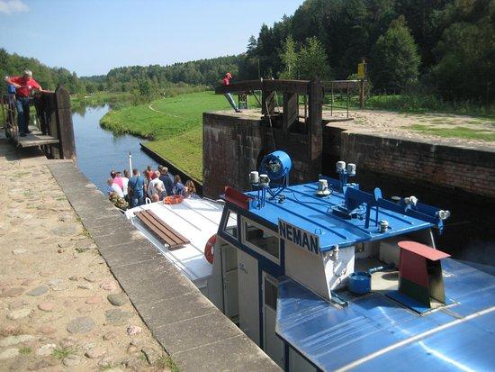 Grodno Region, เบลารุส: Августовский шлюз.
