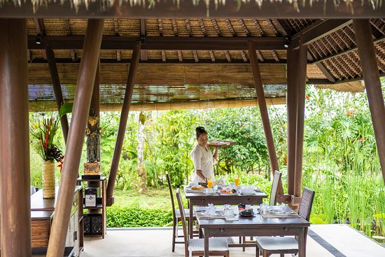 Buahan, Indonesia: Breakfast Venue