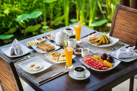Buahan, Indonesia: Breakfast