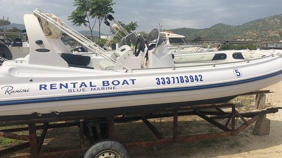 Soverato Marina, Olaszország: Blue Marine Rental boat Soverato