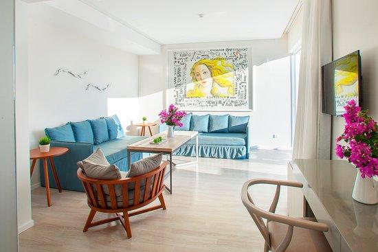 Aliathon Aegean : Two Bedroom Suite - Aegean Swim-Up Suites