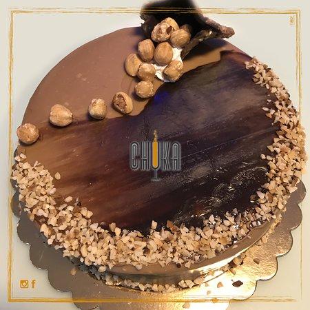 Bar Chuka : Cari amici, le idee devono essere chiare,  la cioccolata densa e le nocciole croccanti 🖤🥄🥜