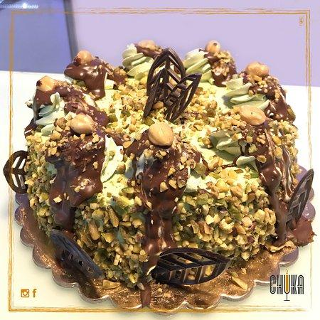 Bar Chuka : Granella di nocciola e pistacchio spolverano la gioia dei più golosi