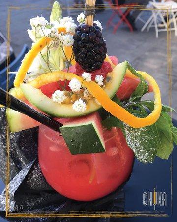 Bar Chuka: Drink leggermente alcolico dal gusto fresco e a base di frutta