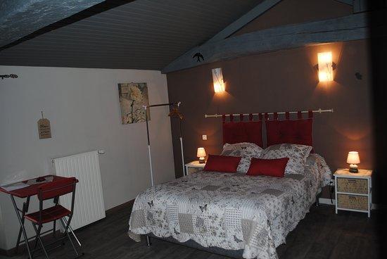 Vendee, ฝรั่งเศส: chambre amynthe pour 2 ou 3 personnes