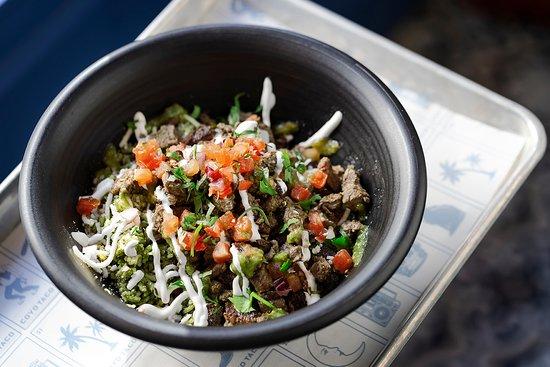 Coyo Taco : Burrito Bowl de Carne Assada