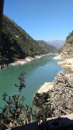 Marine Drive of Byasi VILLAGE,  Hrishikesh, Uttarakhand.