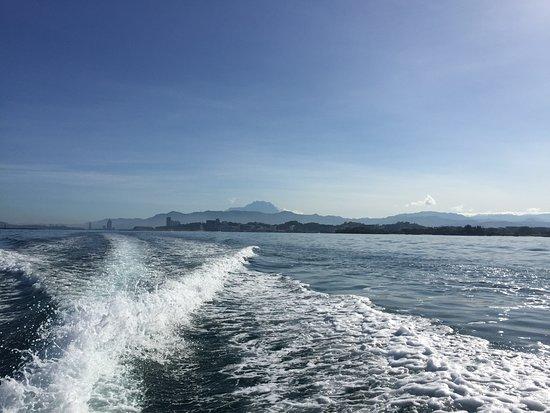Scuba Junkie KK: View from the boat