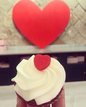 San Valentin Cupcake