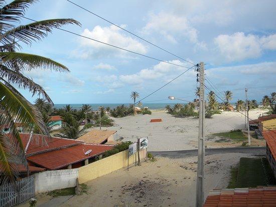 Pousada Sol e Mar: Vista apreciada do terraço superior