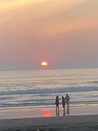 Sunset on Seminyak Photo
