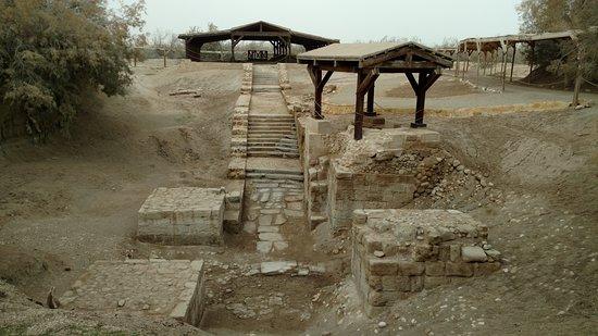 Dead Sea Region, Ürdün: The precise location of Jesus' baptism
