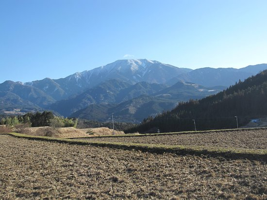 Achi-mura, Japan: 綺麗な山容