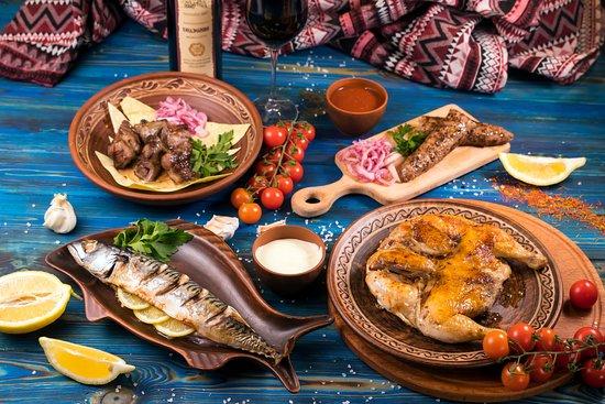 Настоящая грузинская кухня!
