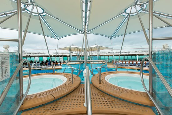 The Whirlpools on Vision of the Seas