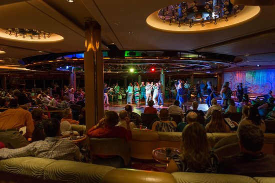 Game Show at Some Enchanted Evening Lounge on Vision of the Seas