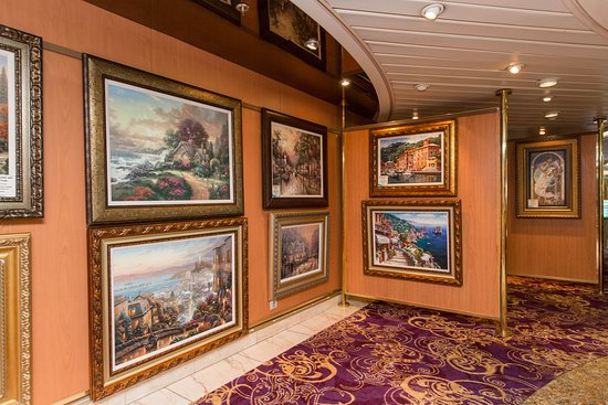 Art Gallery on Vision of the Seas