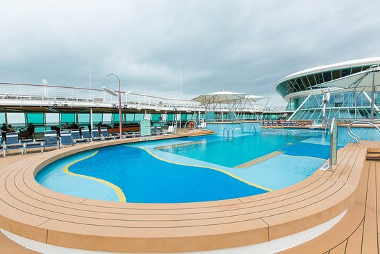 The Pool on Vision of the Seas