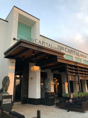 Places to eat on International Drive - Shows The Capital Grill family restaurant