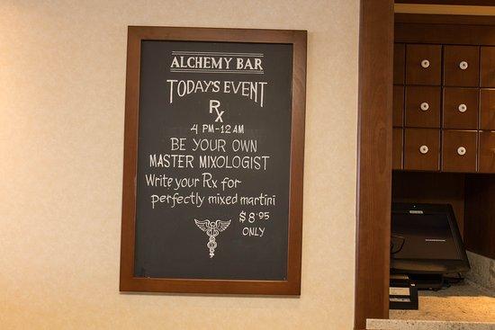 Alchemy Bar on Carnival Inspiration