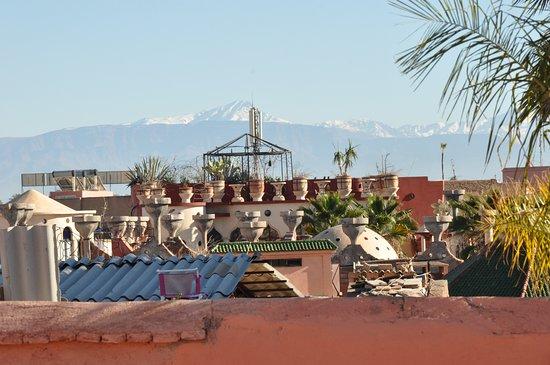 Riad Abaka By Ghali Annexe: Vu de la terrasse