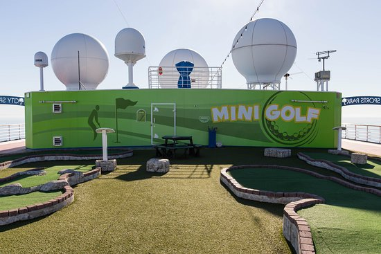 Mini Golf on Carnival Inspiration