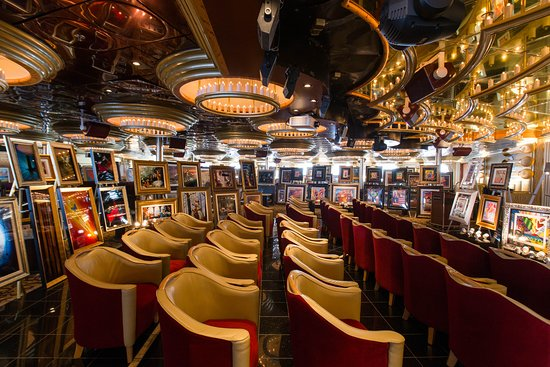Art Auction on Carnival Inspiration