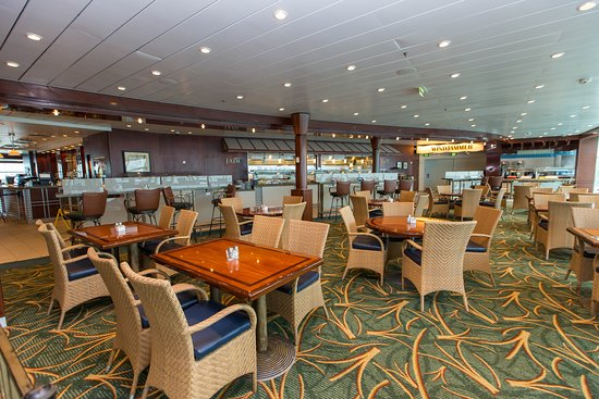 Windjammer Cafe on Liberty of the Seas