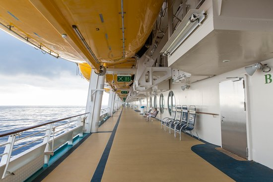 Exterior Deck on Liberty of the Seas