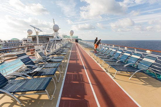Jogging Track on Liberty of the Seas