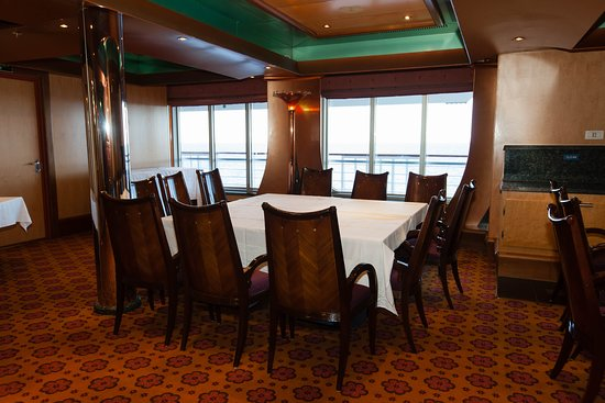 Copper Room on Carnival Glory