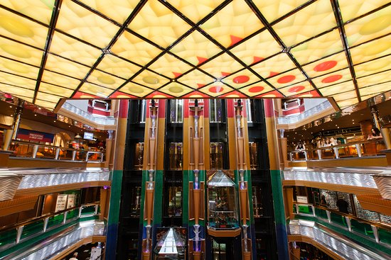 Old Glory Atrium on Carnival Glory