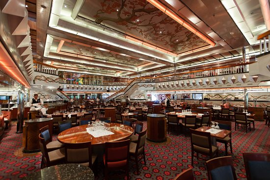 Platinum Restaurant on Carnival Glory