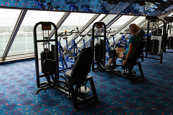 Fitness Center on Carnival Glory