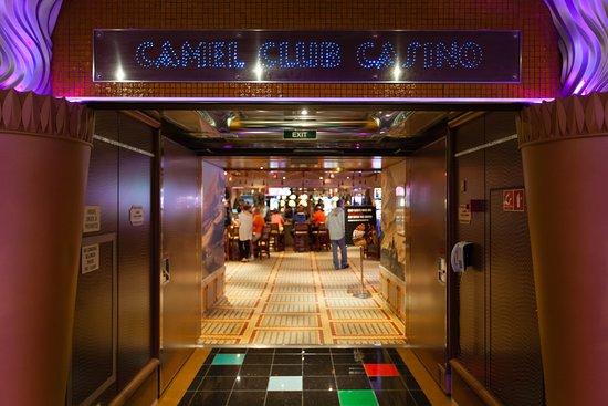Camel Club Casino on Carnival Glory
