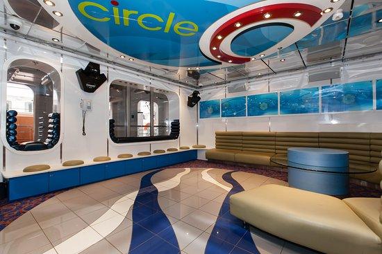 Circle C on Carnival Glory