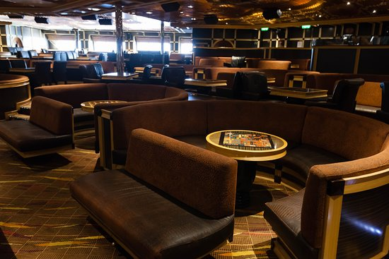 Ebony Cabaret Aft Lounge on Carnival Glory