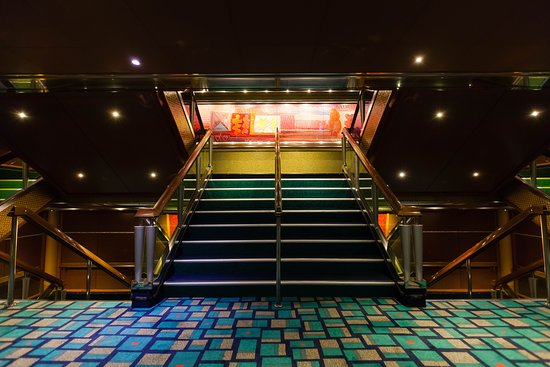 Stairs on Carnival Glory