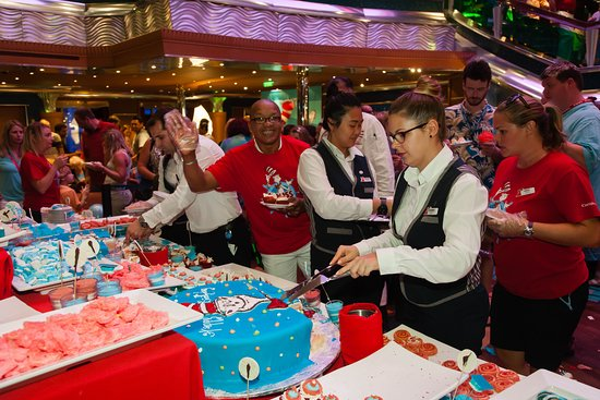 Dr. Seuss Birthday Party on Carnival Glory