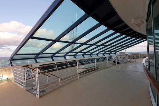 Bridge Overlook on Voyager of the Seas