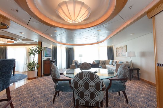 The Royal Suite on Voyager of the Seas