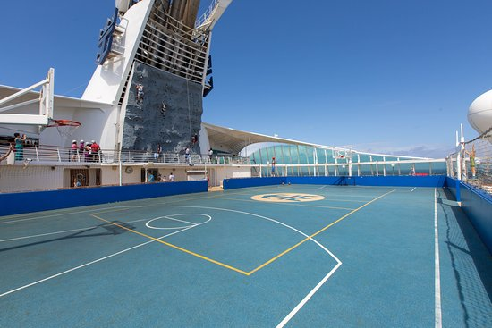 Sports Court on Voyager of the Seas