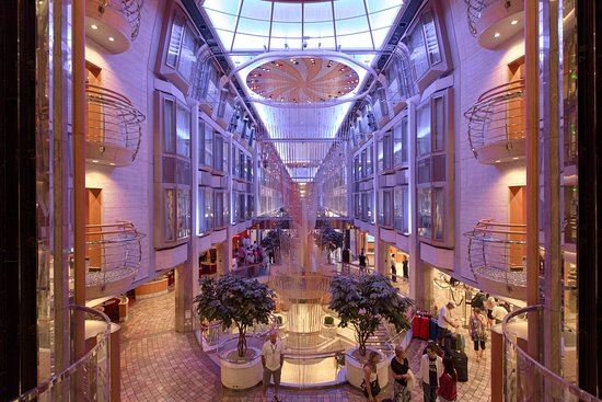Royal Promenade on Voyager of the Seas