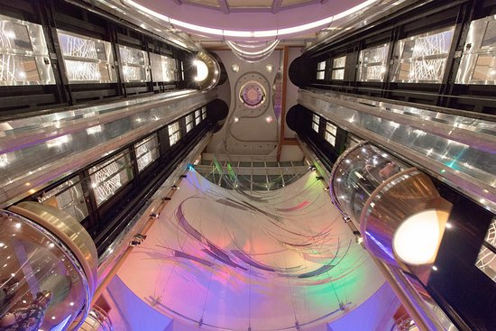 Elevators on Voyager of the Seas