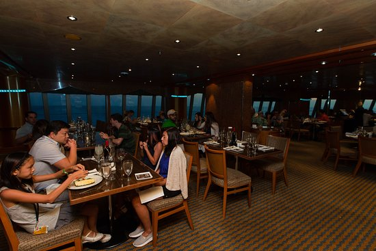 Southern Lights Dining Room on Carnival Magic